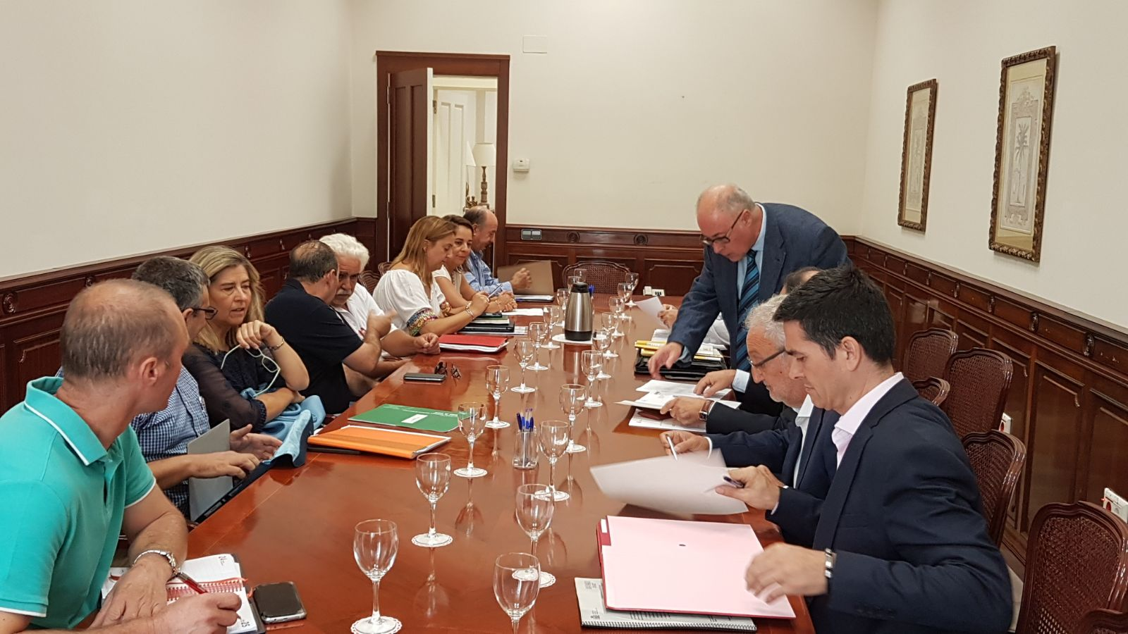 La comisión provincial del Profea aprueba un incremento de fondos del 15 por ciento para proyectos de Empleo Estable