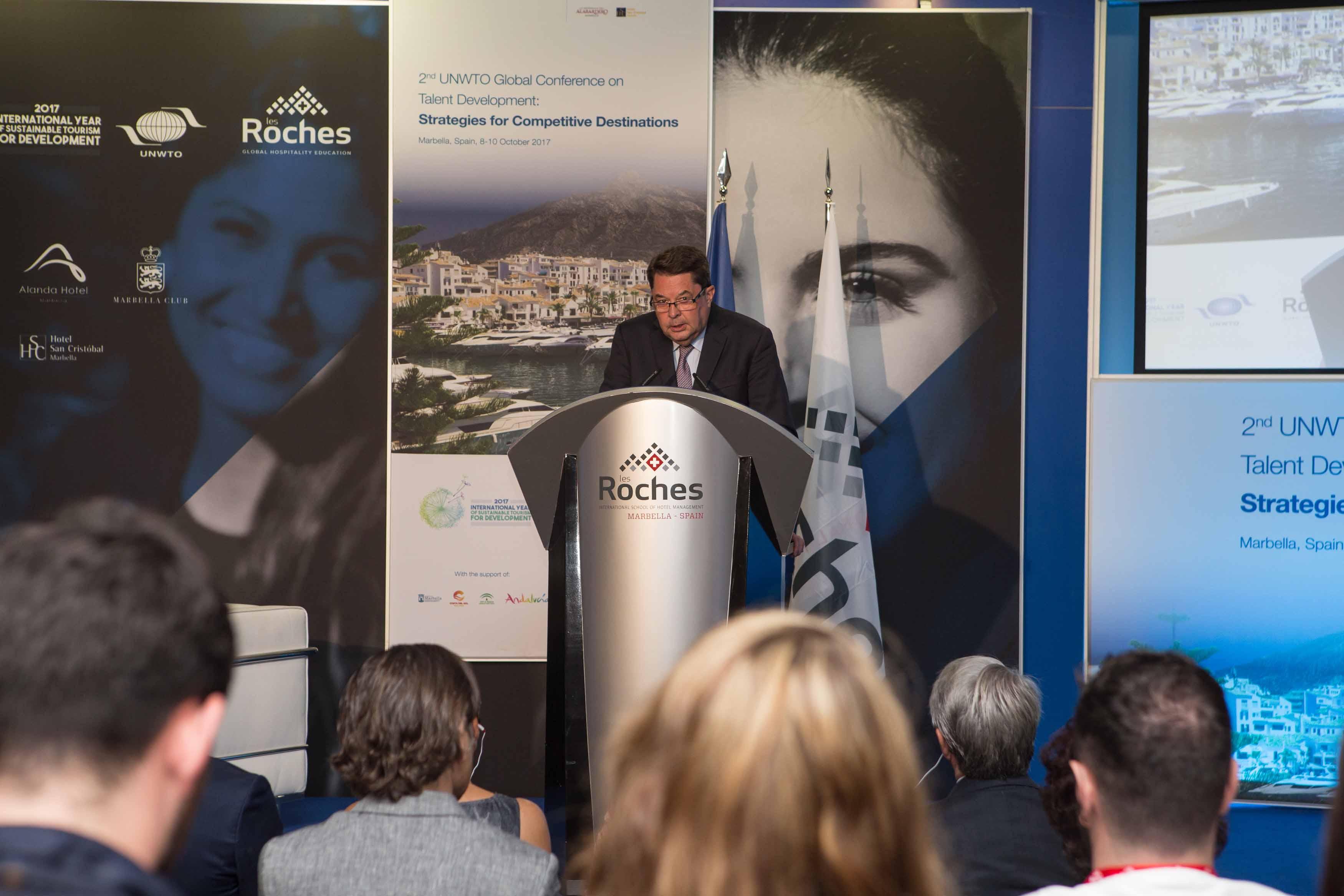Les Roches y la OMT congregan a expertos de todo el mundo para abordar los retos de la educación y el turismo