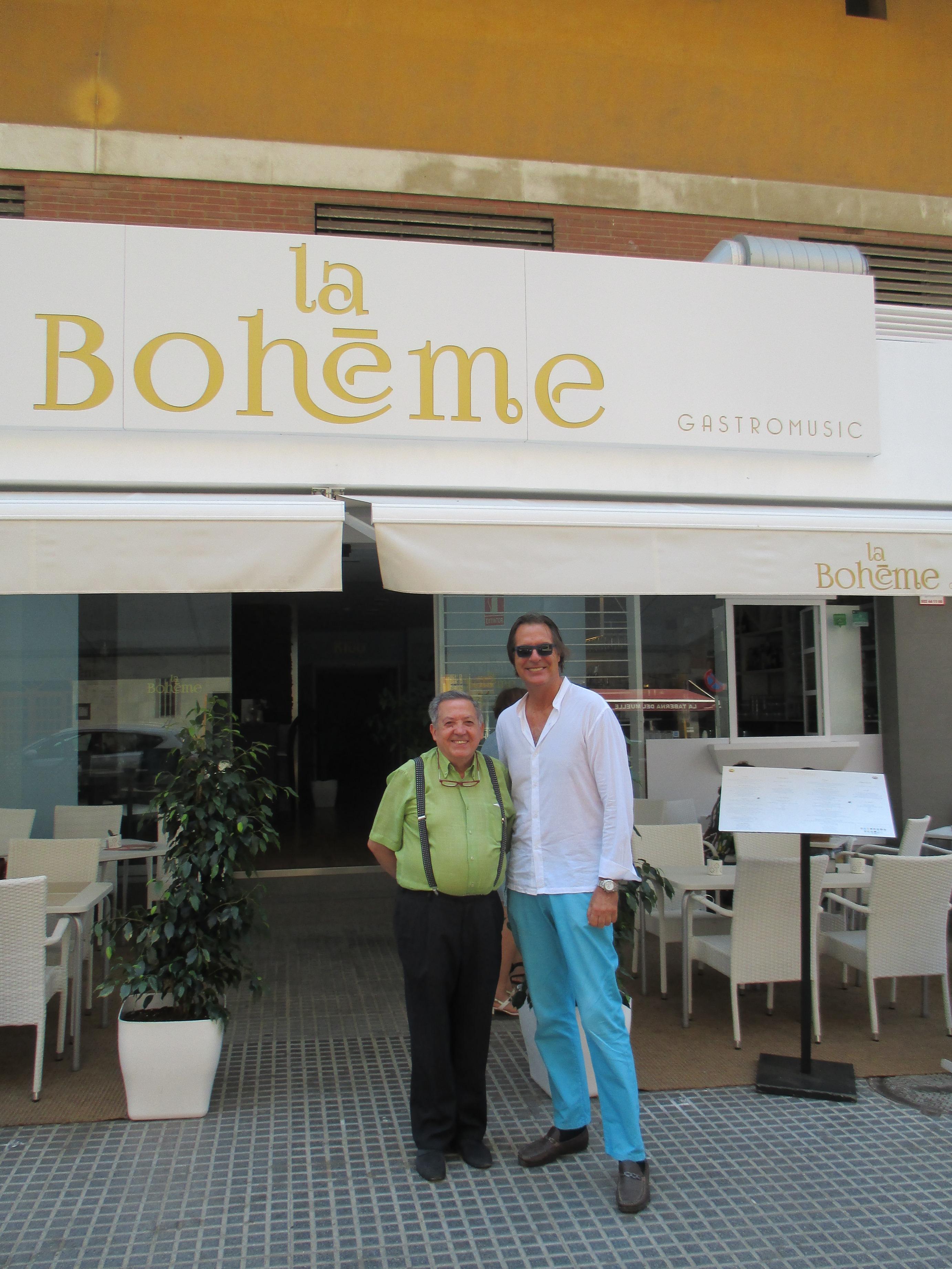 La Bohéme, un gastromusic para amantes de la cocina, de la música y del teatro