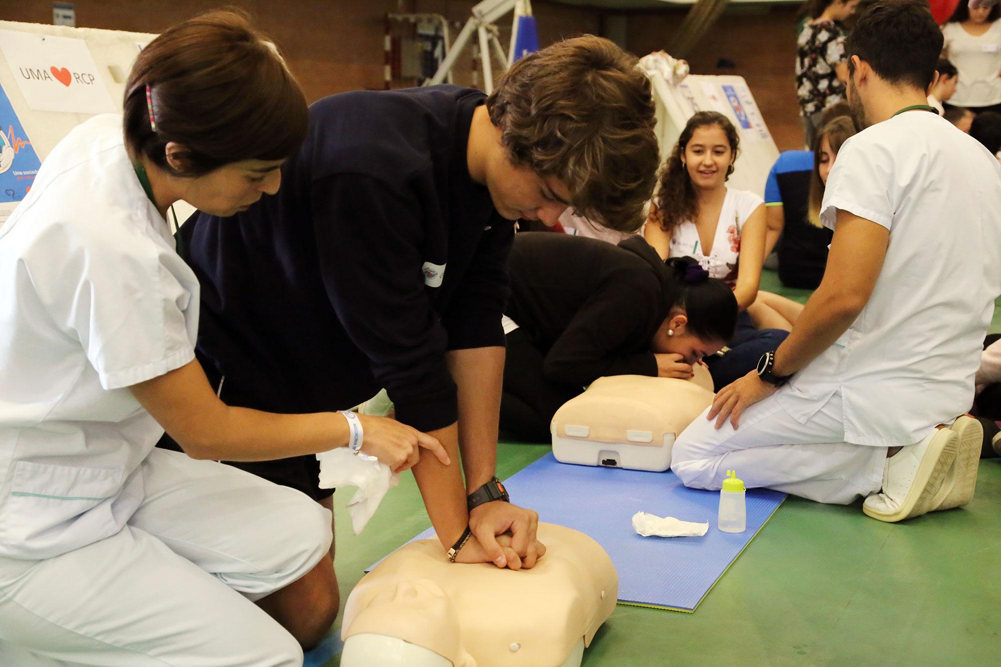 La UMA se suma al Día Europeo de Concienciación ante la Parada Cardiaca