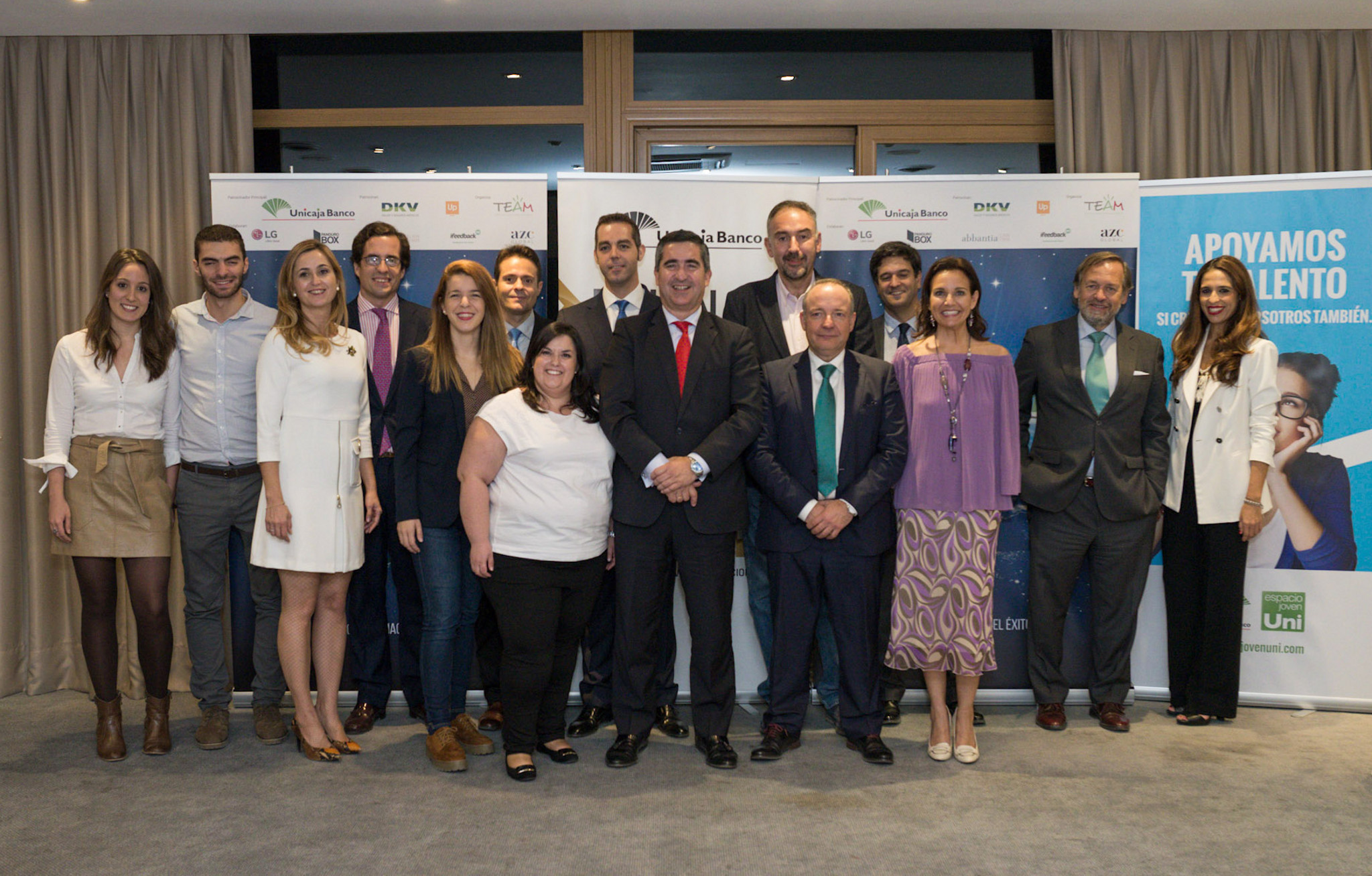 Unicaja Banco impulsa 'MentorizaTEAM', un foro celebrado en Madrid para poner en contacto a jóvenes talentos andaluces con empresarios