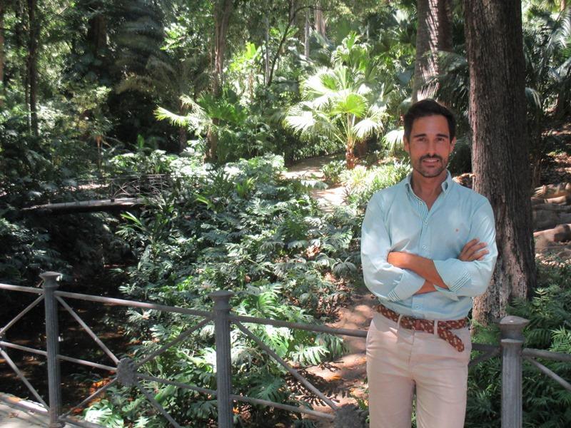 """""""Una de nuestras prioridades ha sido que el Jardín Botánico Histórico La Concepción lo conociera la gente de Málaga"""". Javier Gutiérrez del Álamo, director"""