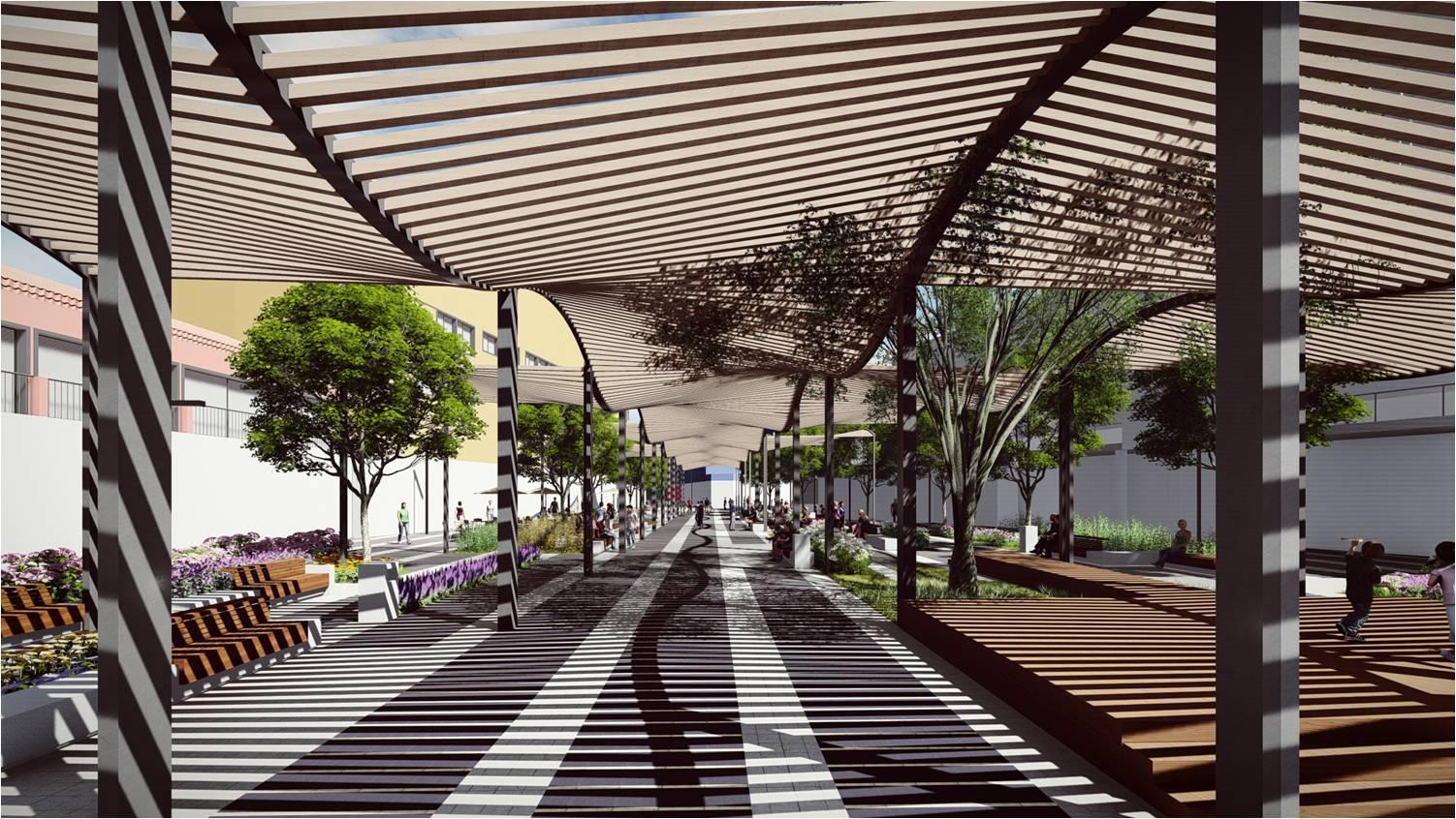 Las obras de peatonalización de la plaza Costa del Sol de Torremolinos comenzarán en enero y concluirán a finales de 2018