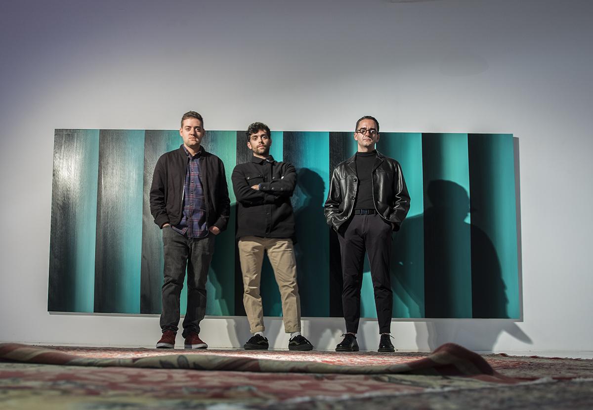 """Ignacio Tapia presenta en Bellas Artes su exposición """"A study in blue and Green"""""""