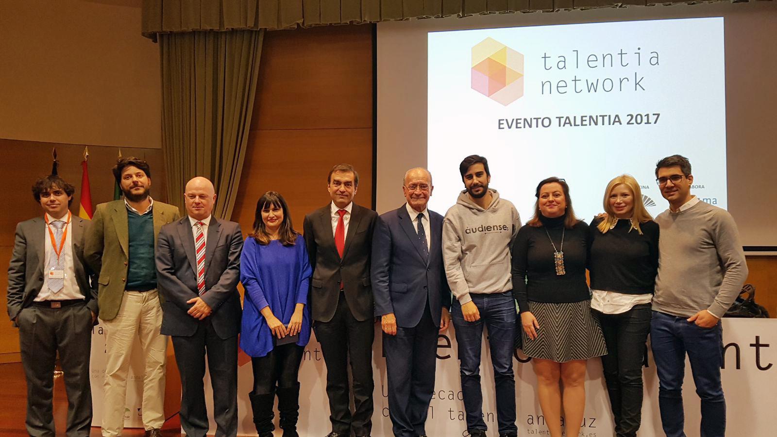 Entrega de los premios Talentia Network