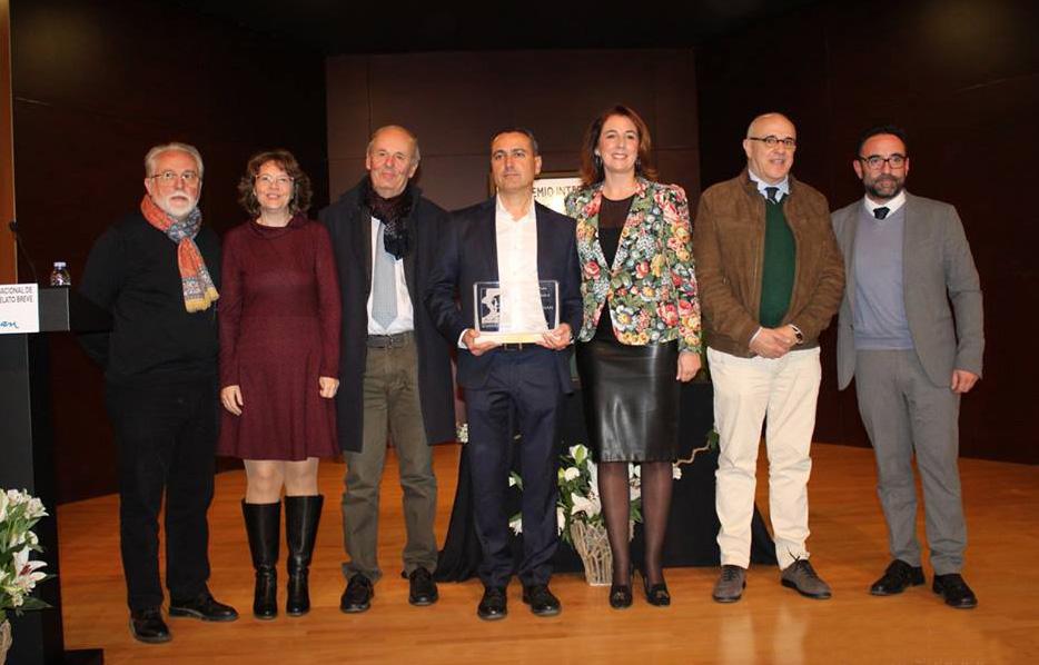 Alhaurín el Grande entrega el Premio Internacional de Relato Breve Gerald Brenan en su XIV edición a Fernando Martínez López