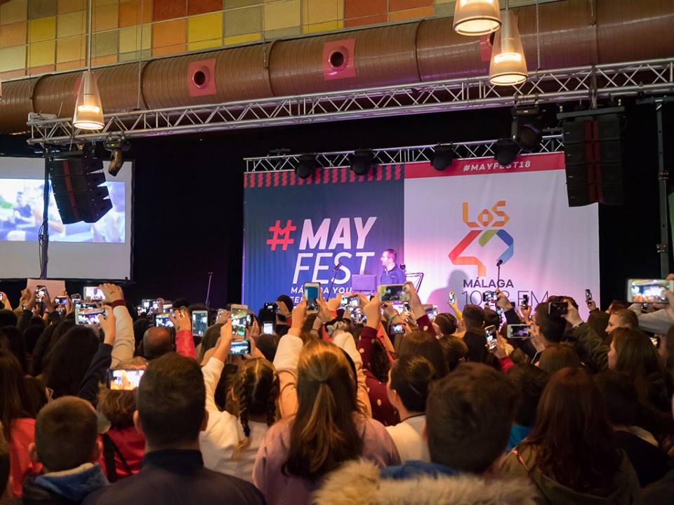 Más de 1.500 jóvenes disfrutan de la primera edición de Mayfest