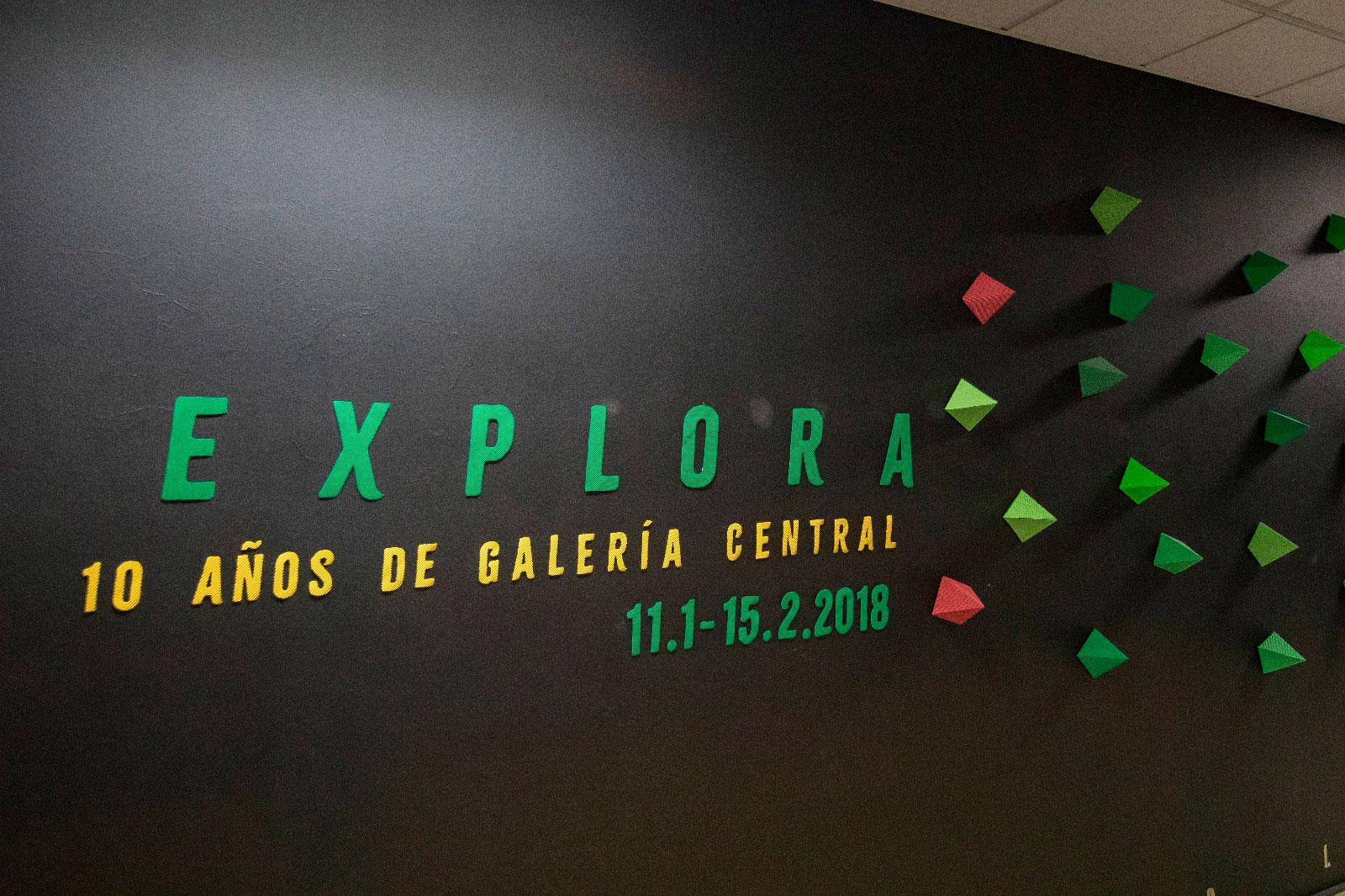 Décimo aniversario de Galería Central con exposición retrospectiva