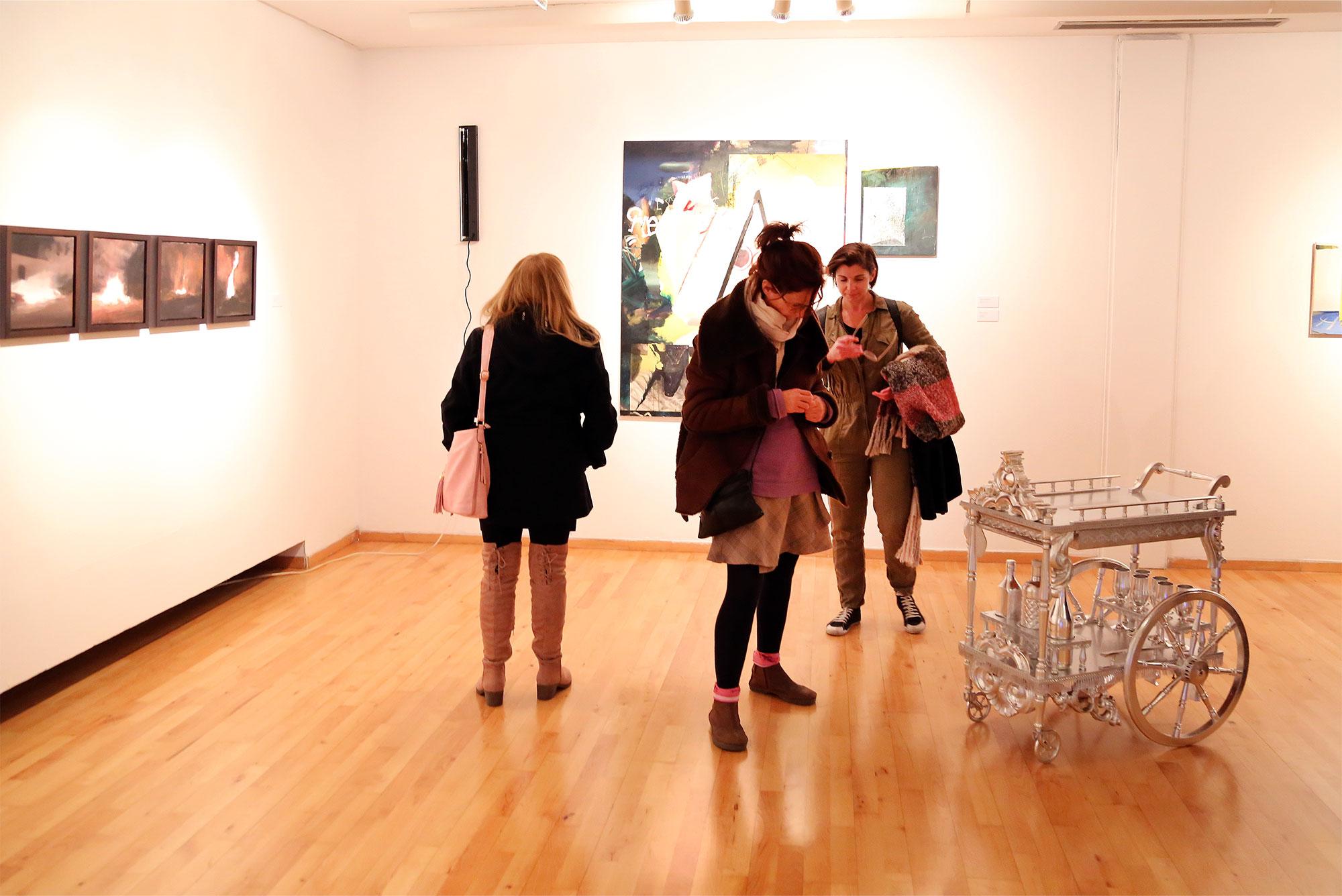 Exposición INT16 con los proyectos finales del Máster de Bellas Artes