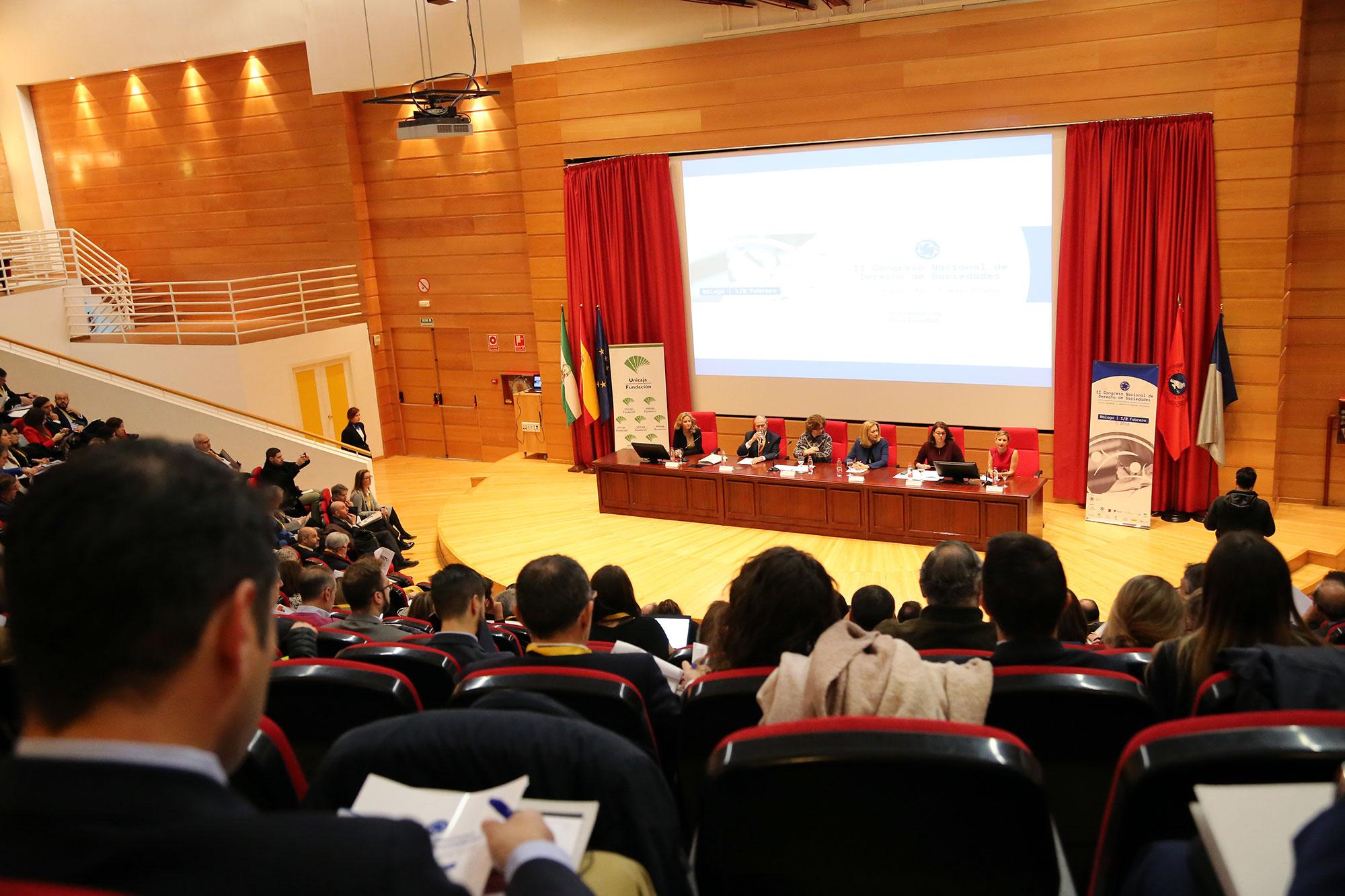 Cerca de 500 expertos debaten en la UMA sobre Derecho de Sociedades