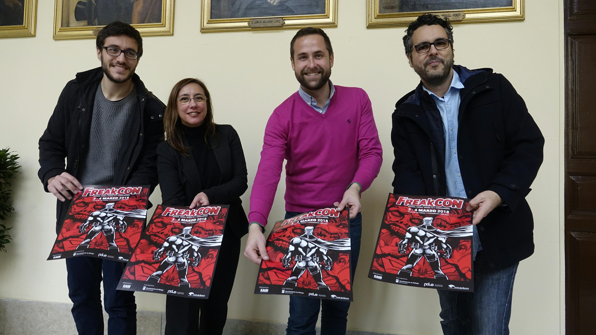 Unicaja Banco colabora con la segunda edición de la convención de cómics, series y videojuegos FreakCon
