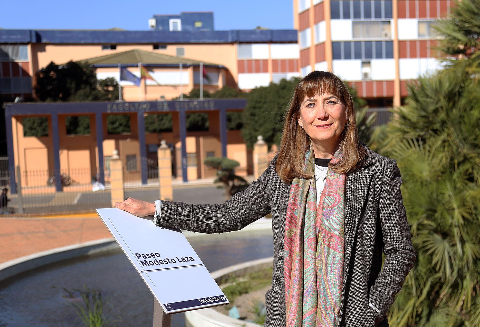 María del Mar Trigo, nueva directora científica del Jardín Botánico de la UMA