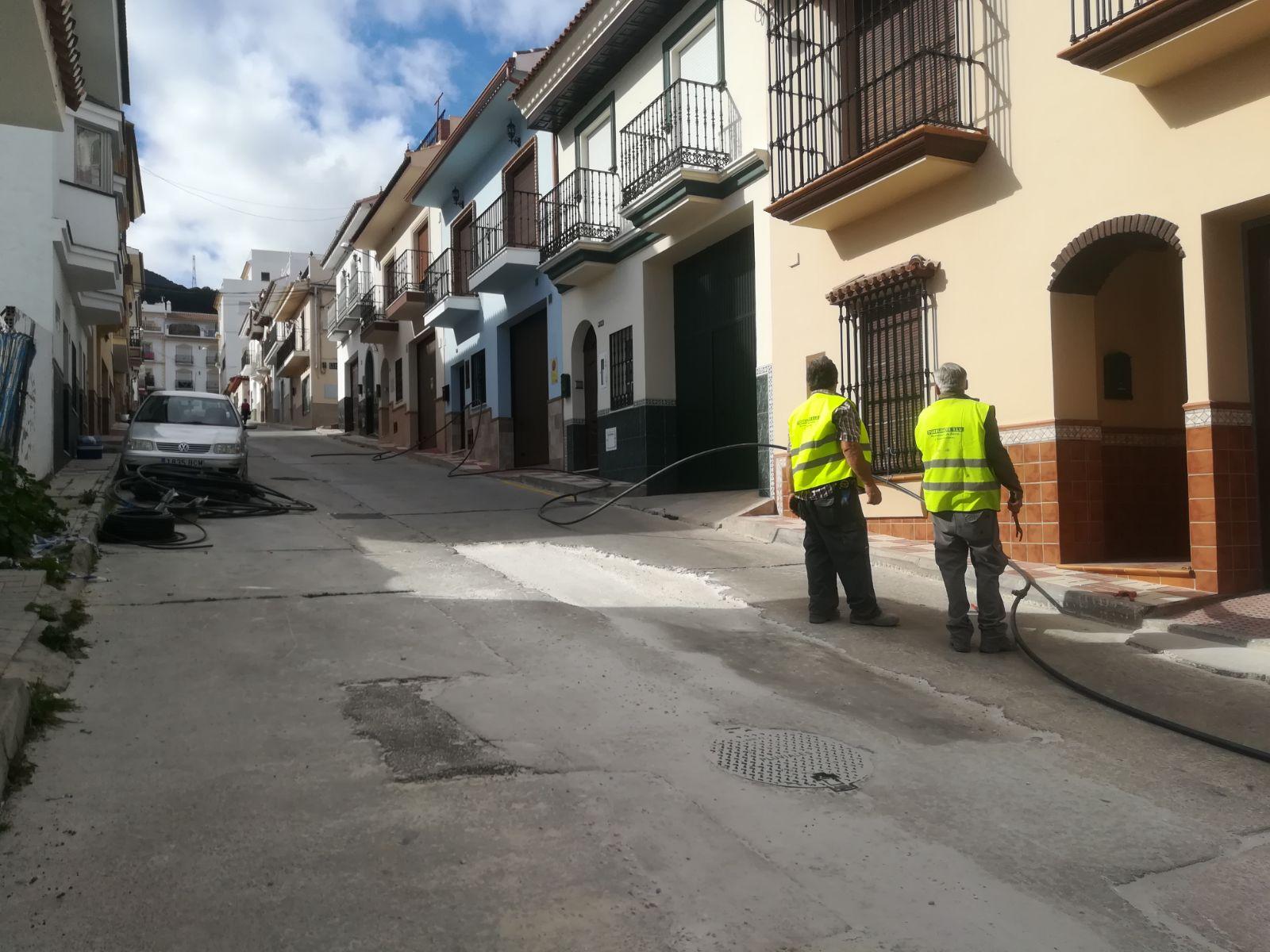 El Ayuntamiento de Alhaurín el Grande invierte cerca de medio millón de euros en las calles Molinos de Abajo y terminación de Fuengirola.