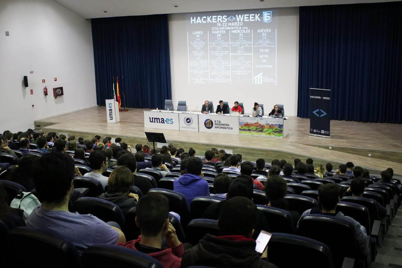 Informática celebra su quinta Hackers Week