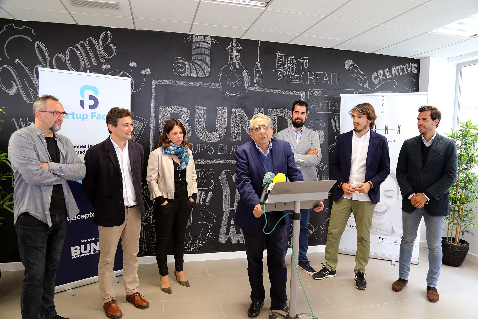 La UMA inaugura Startup Factory
