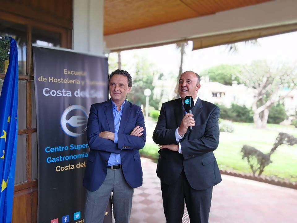 Inauguración del restaurante de la Escuela Superior de Hostelería y Turismo Torremolinos-Costa del Sol