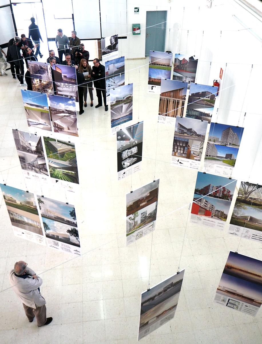 La ETS de Arquitectura inaugura una exposición dedicada a Francisco Mangado