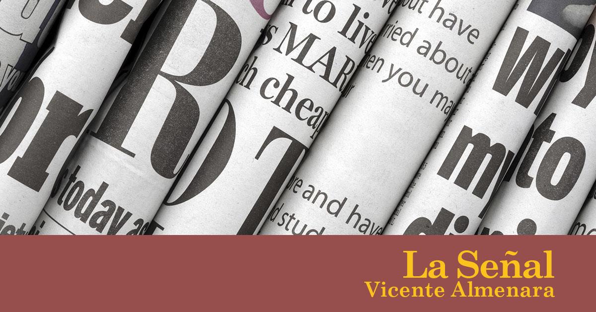 La señal – Divino tesoro. Vicente Almenara