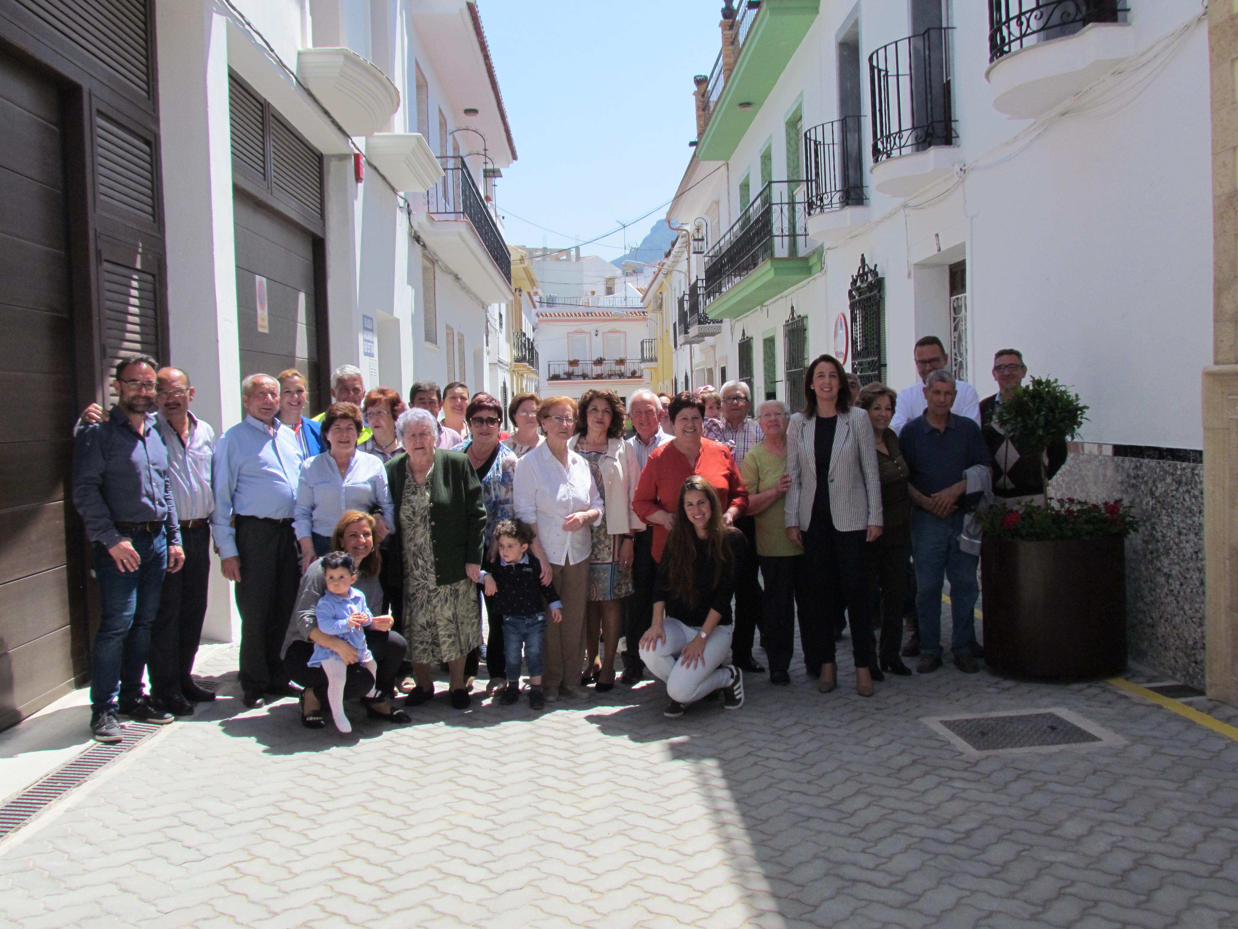 Se abre al tránsito Calle Guerrero en Alhaurín el Grande tras una importante remodelación