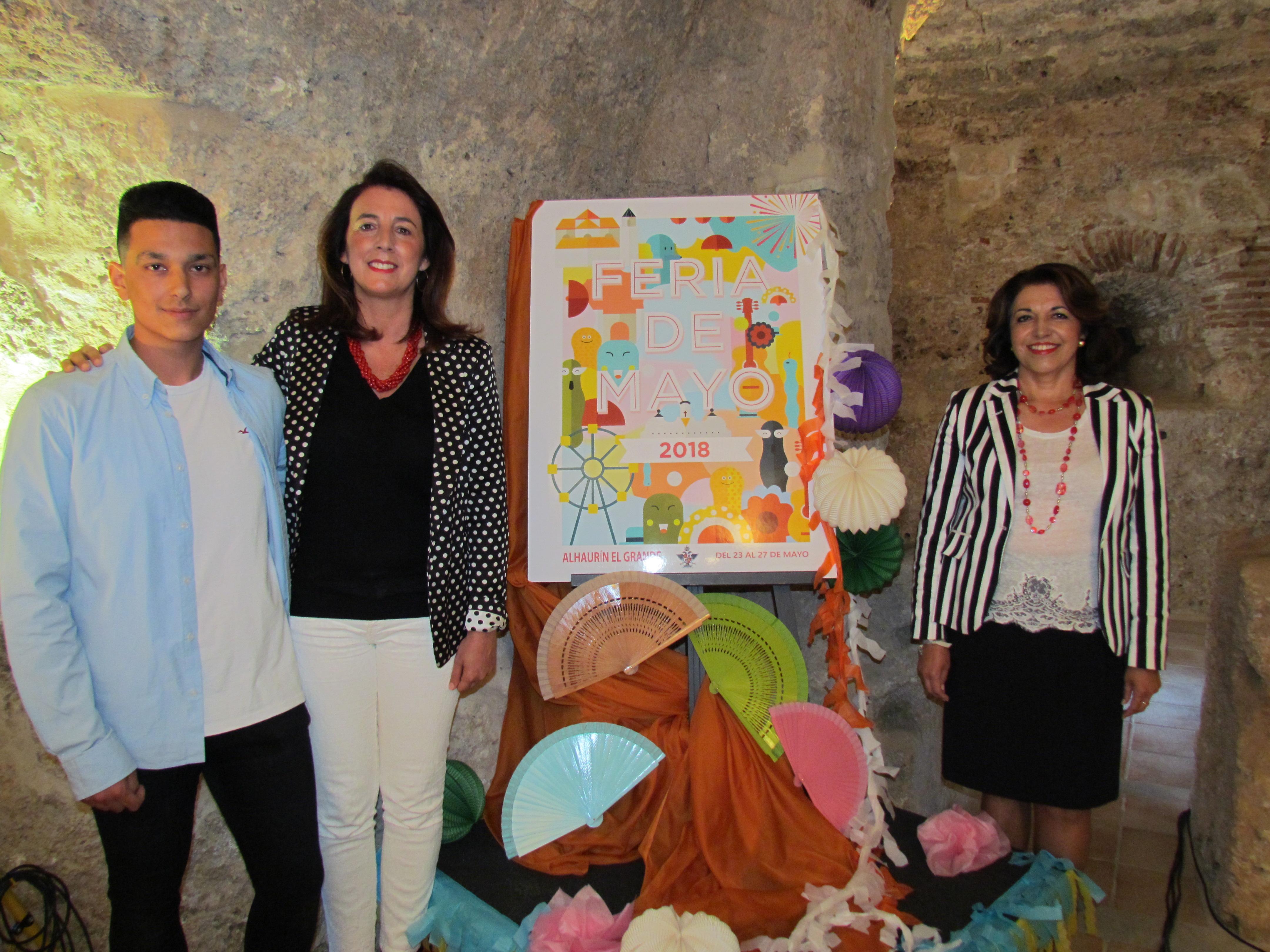 Alhaurín el Grande presenta su cartel y programa para la Feria de Mayo