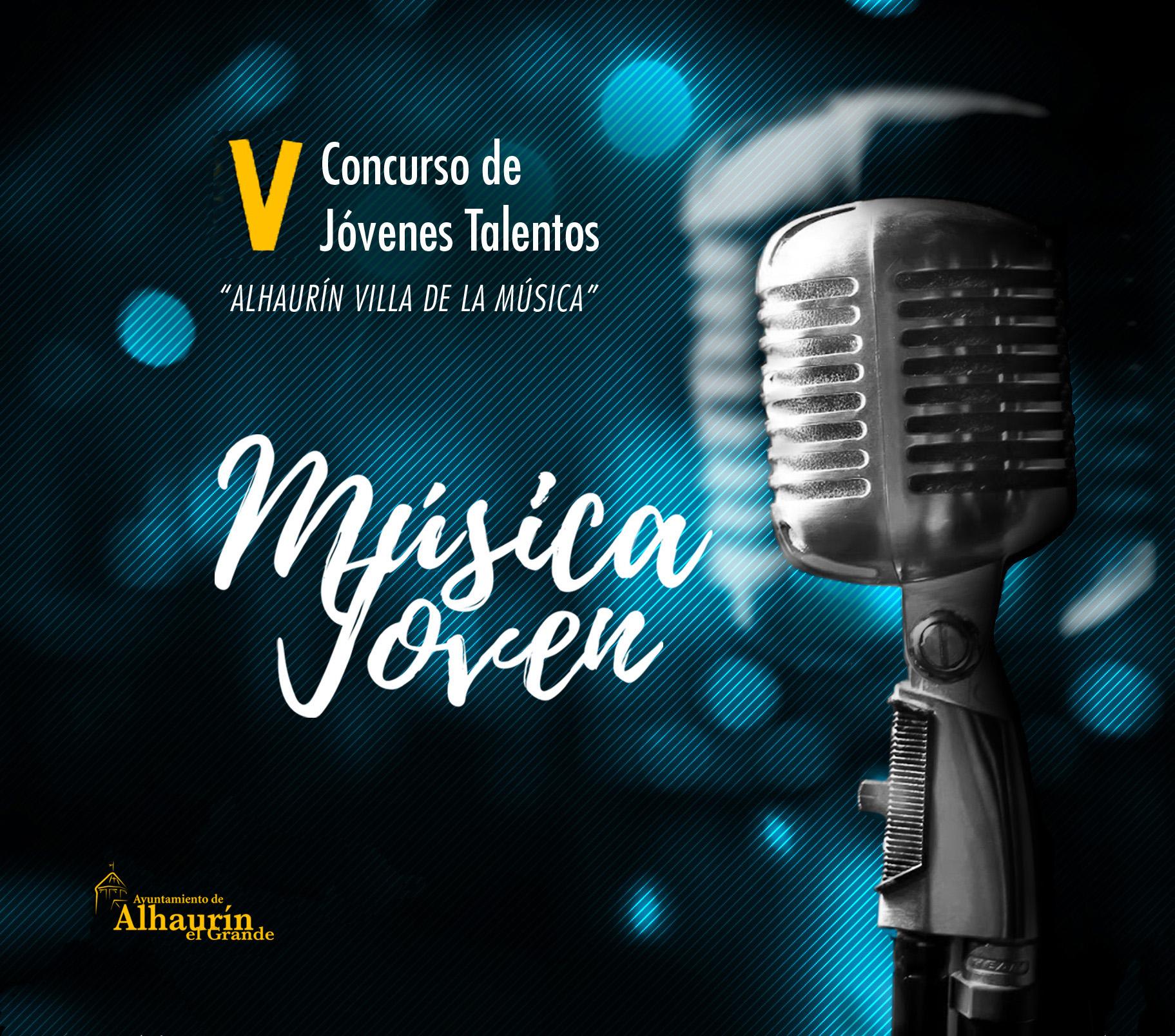 Abierto el plazo para participar en el V Concurso Música Joven que organiza el Ayuntamiento de Alhaurín el Grande