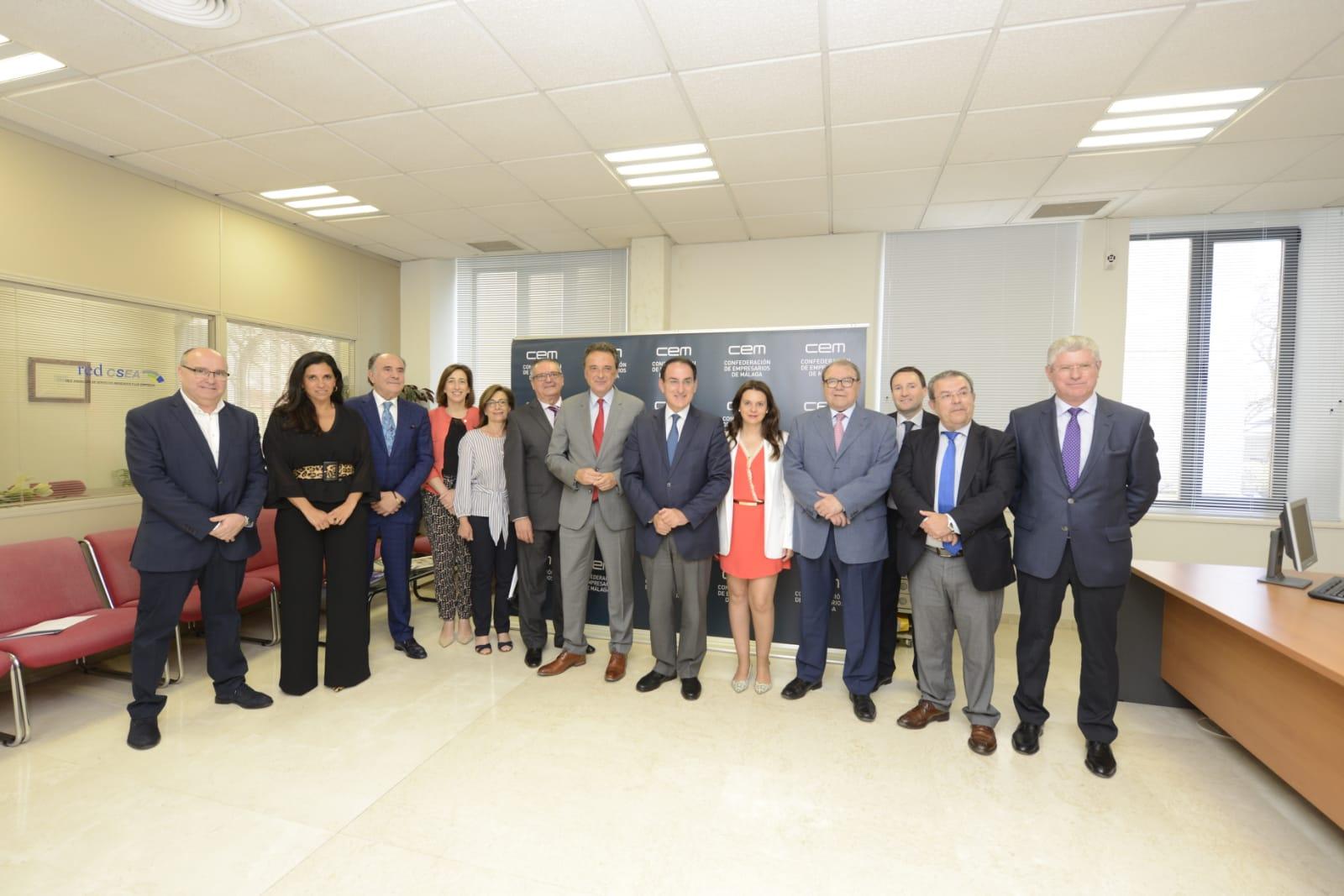 Torremolinos constituye el comité director que impulsará la creación del Consejo Municipal del Comercio