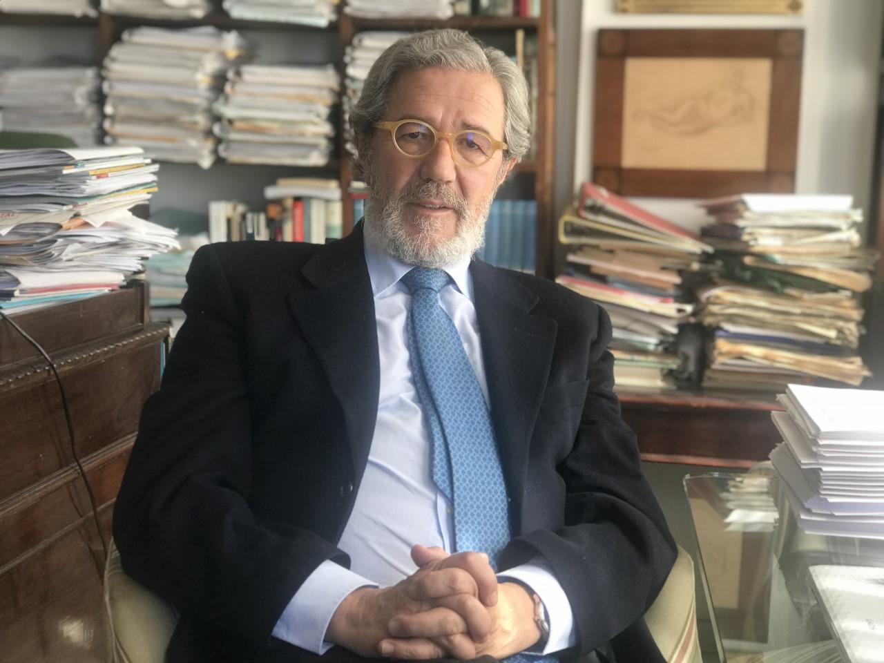 """Santiago Souviron:  """"El finlandés ha visto en Málaga un sitio no sólo de buen clima, sino también un lugar de buena base donde implantar su vida y su negocio"""""""