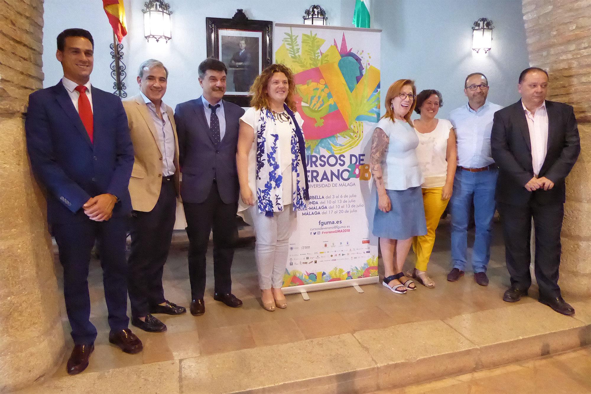 Inteligencia artificial, periodismo y la Asamblea Andalucista se citan en los cursos de verano de la UMA en Ronda