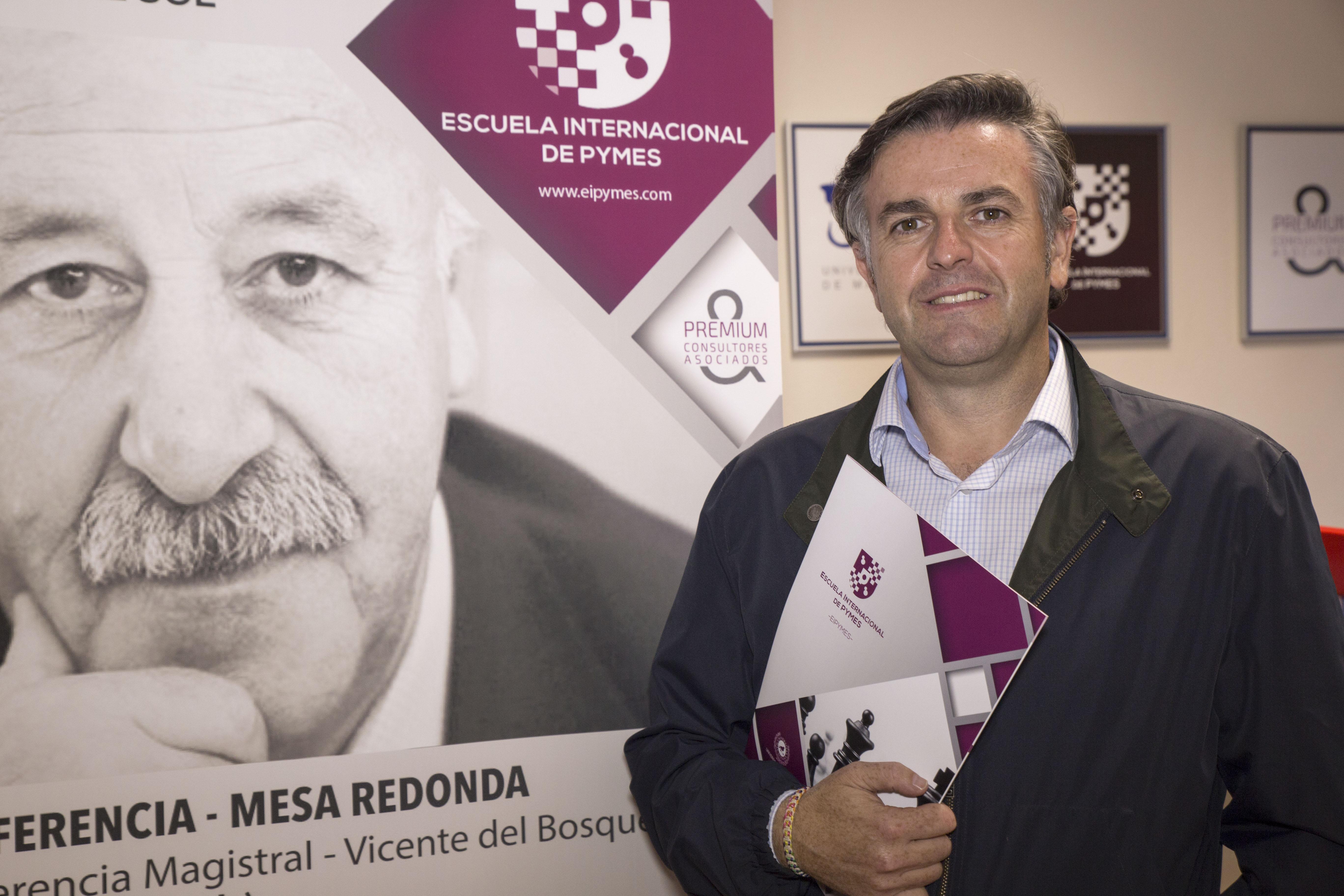 """Jerónimo Sánchez, director de EIPYMES: """"El nicho de mercado de EIPYMES es el empresario hecho así mismo"""""""