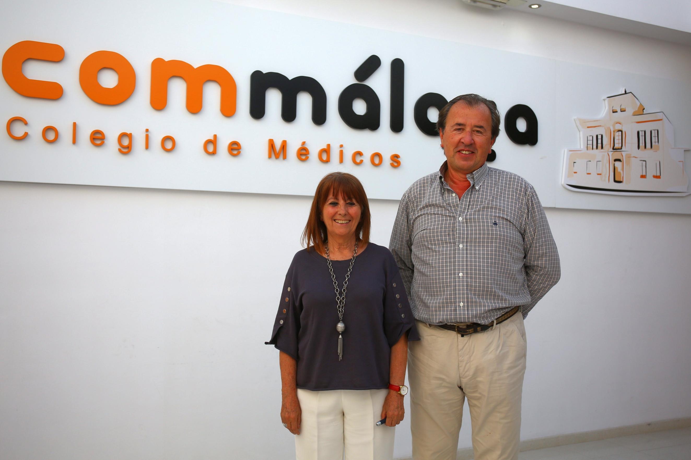 """Juan José García: """"El primer convenio que se ha cerrado entre Colegio de Médicos y Colegio de Farmacéuticos ha sido en Málaga"""""""