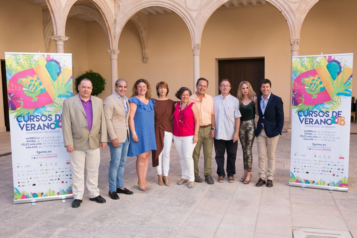 Los cursos de verano de la UMA en Vélez y Ronda sumaron más de 300 alumnos