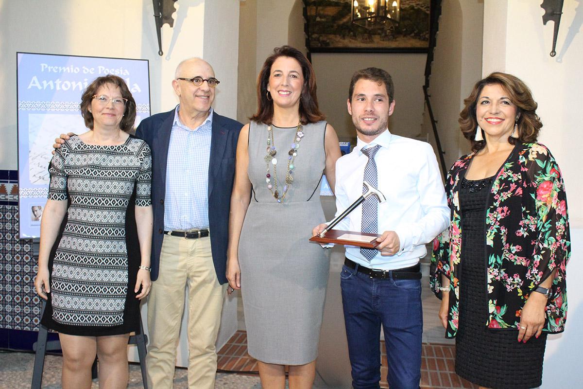 """Alhaurín el Grande entrega el XII Premio Internacional de Poesía """"Antonio Gala"""""""
