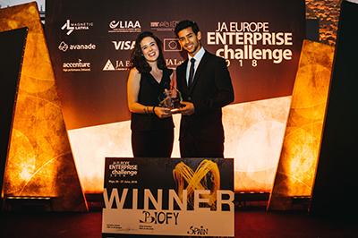 BIOFY, premiada como empresa del año en Riga