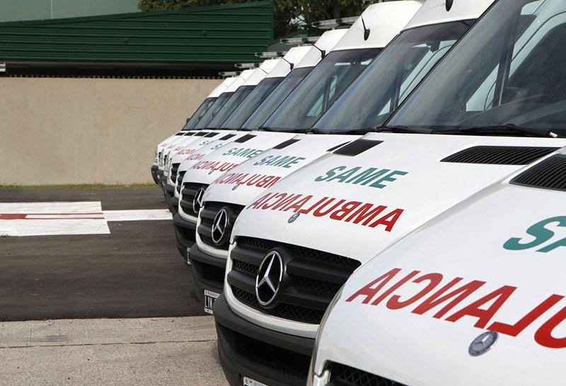 Se mantiene la convocatoria de huelga indefinida en el sector de ambulancias de Málaga contra la extrema precariedad laboral