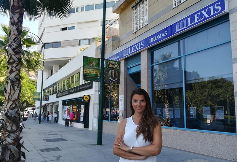 Evelyn Vacean, directora comercial de Lexis Idiomas