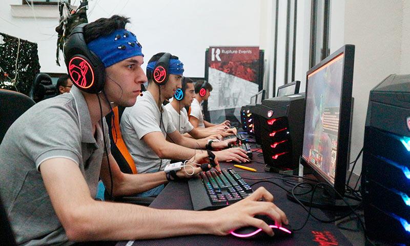 La UMA lidera un proyecto de investigación que estudia la psicofisiología de jugadores de eSports en pleno juego