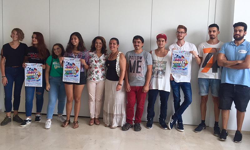 """""""Jóvenes Unidos por el Arte"""" ofreció este sábado numerosas actividades en Alhaurín el Grande"""