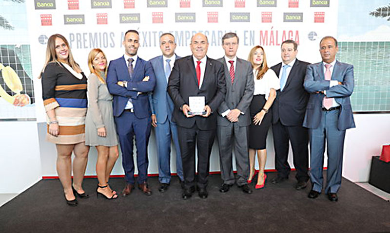 Federico Beltrán, premio al Mejor Empresario de Actualidad Económica en Málaga