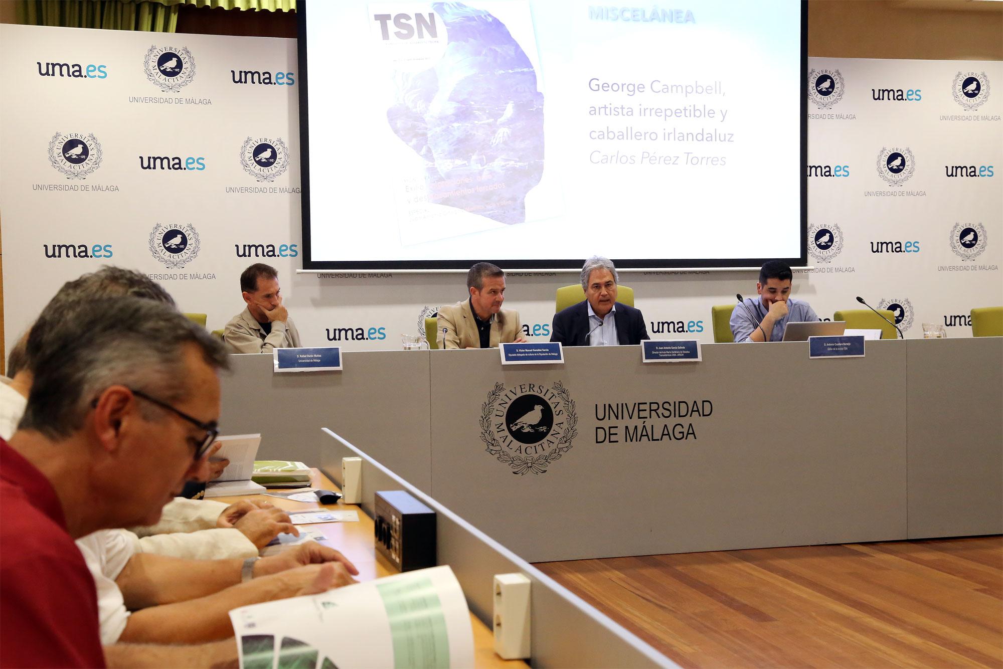 El Aula María Zambrano de Estudios Transatlánticos presenta el cuarto número de la revista TSN