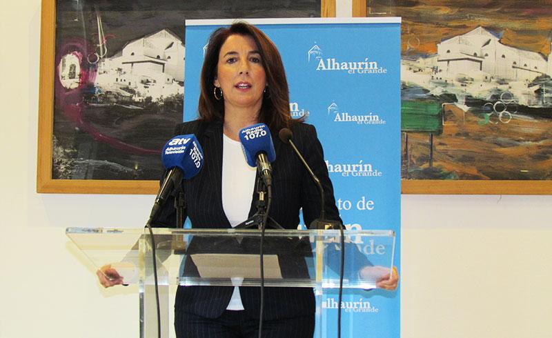 La alcaldesa de Alhaurín el Grande anuncia que recurrirá en apelación la sentencia de la moción de censura