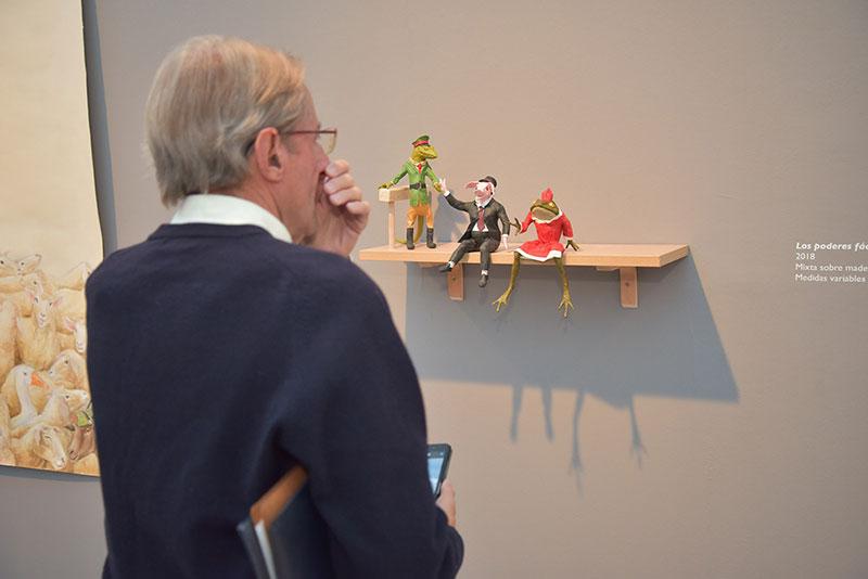 Chema Lumbreras exhibe en Ronda 'La luz y la noche', muestra original del artista para Fundación Unicaja