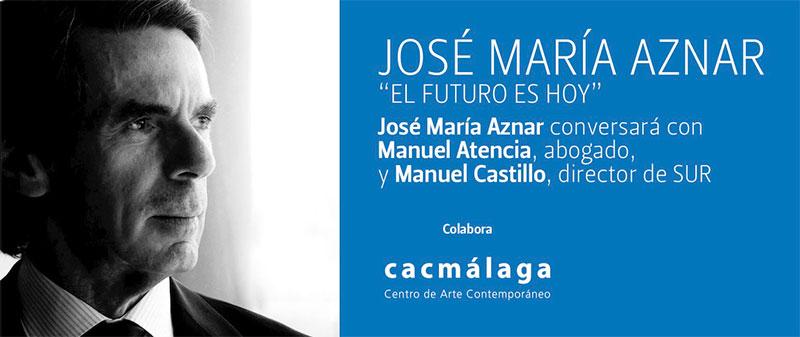 Aznar en Málaga: la Constitución de 1978 es garantía de la libertad en España
