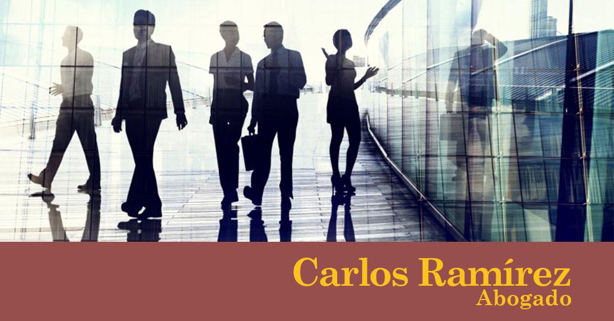 Trabajo no presencial y objetivos. Carlos Ramírez. Abogado