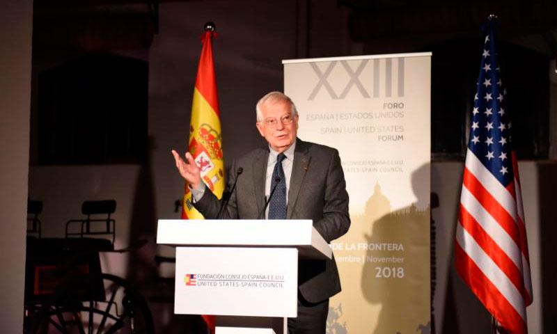 Borrell subraya la importancia de la relación transatlántica y el papel del sector empresarial en la inauguración del Foro España – Estados Unidos en Jerez