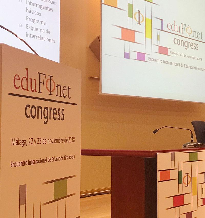 El Proyecto Edufinet de Unicaja presenta las conclusiones del Congreso Internacional de Educación Financiera, que ha reunido a cerca de 400 participantes