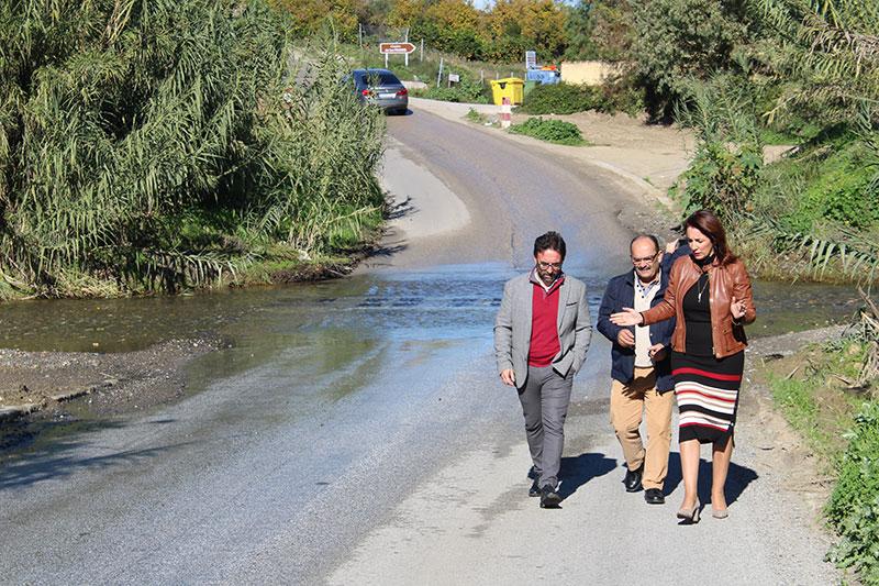 Salen a licitación las obras del puente sobre el río Fahala de Alhaurín El Grande, que comenzarán a principios de 2019