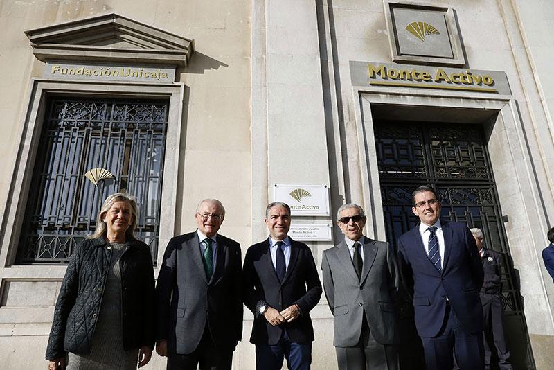 Fundación Unicaja inaugura la nueva sede en Málaga de Monte Activo