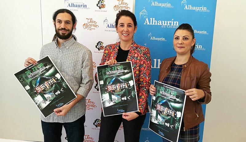 Tras el éxito de la pasada edición regresa a Alhaurín el Grande la 'Survival Digital Experience'