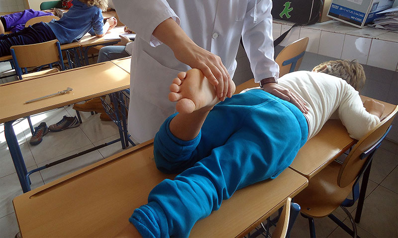 Demuestran que la postura del pie de los niños influye en sus posibles alteraciones dentales