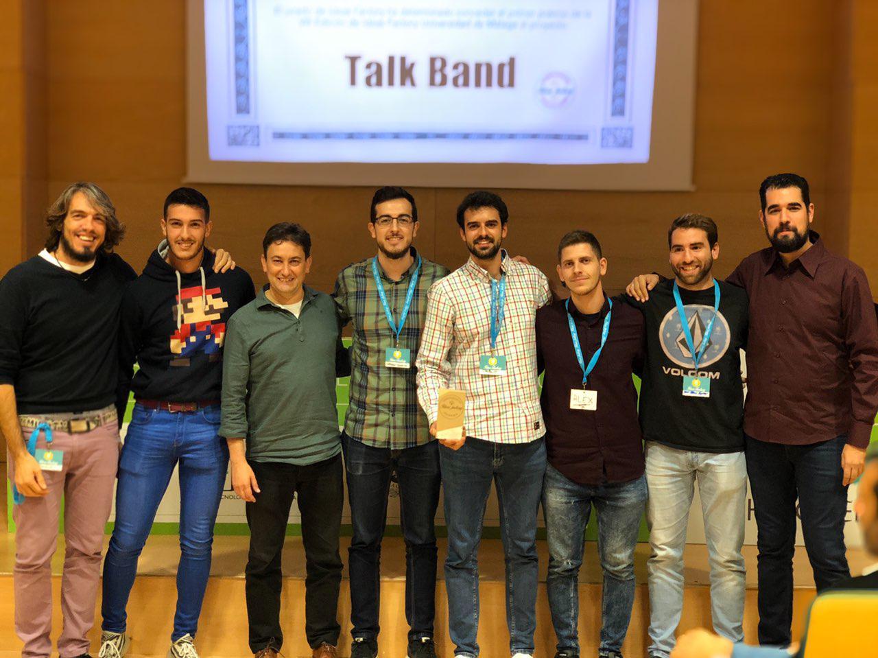 Talk Band, ganador de la octava edición de Ideas Factory  de la UMA